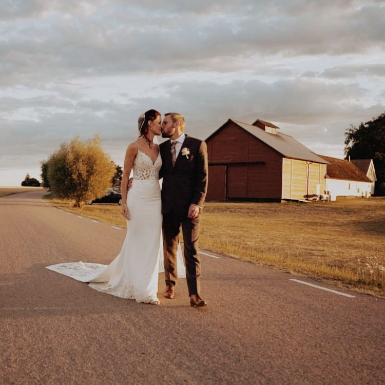 We film a gorgeous couple in the middle of Sweden. A stunning destination wedding video